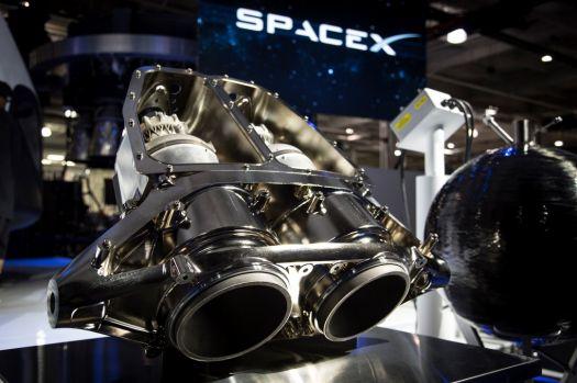 SpaceX SuperDraco Rocket Engines