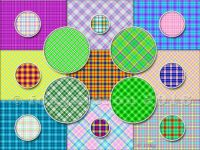 Simple Circles and Simple Plaids