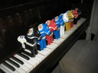 Swedish Horses on a Swedish Piano