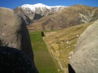 Rock Formations Southern Alps NZ