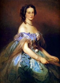 Grand Duchess Alexandra Iosifovna of Russia by Winterhalter 1859