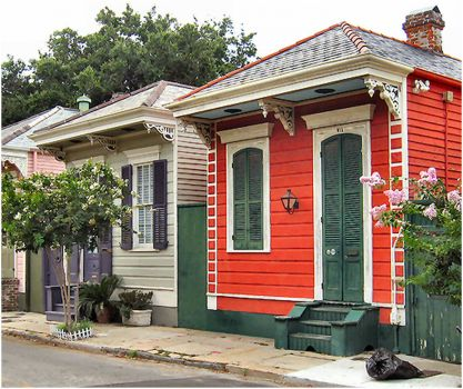 Little Houses in New Orleans