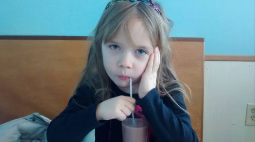My Grandaughter Five and a half years old