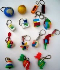 A few more - Keychain Puzzles.