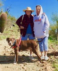 apache trail, 2-20-2019 Mikie, Maggie & Avie