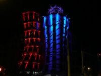 Ginger and Fred - Signal Festival - Prague Festival of Lights