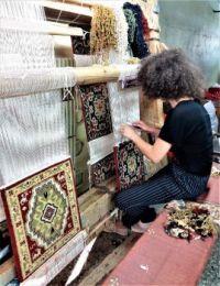 At The Carpet Factory, Armenia