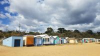 Beach Huts Mt Martha Mornington Peninsula Australia