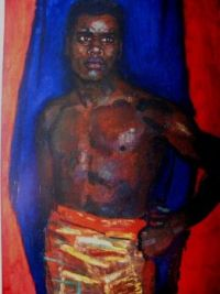 Sluijters, Jan (1881-1957) - 1914 Negro in the Curtain