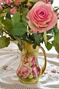 Only a Rose, but in a beautiful vase!