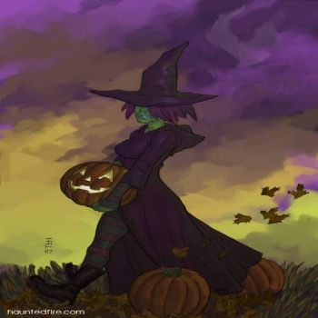 Theme: Halloween - Witch