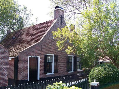 Friesland, towns and villages, Moddergat.