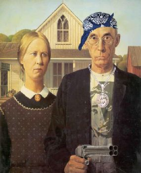 American Gothic  ~  Gangster