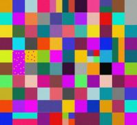many-colored squares - large