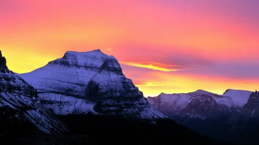 -Mountains-World-The-Sun-Glacier-National-Park-