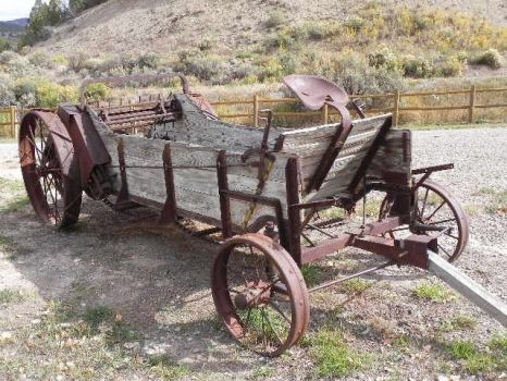 old time wagon