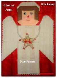 Christmas angel i made