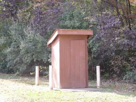 Outhouse (near the lake)
