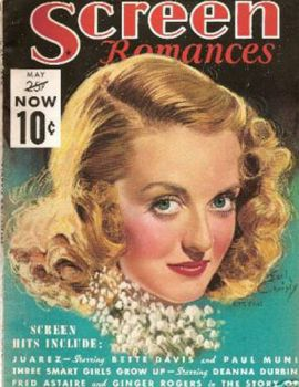 vintage magazine .. Screen Romances