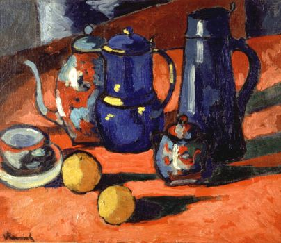 Still Life with Oranges by Maurice de Vlaminck