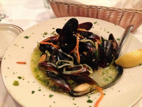 Yianni's Prime Choice - Mussels YUMMM!