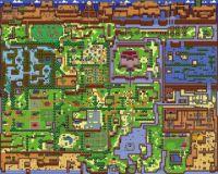 Legend of Zelda: Link's awakening worldmap
