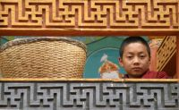 Little monk in Bhutan