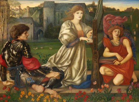 burne-jones le chant d'amour