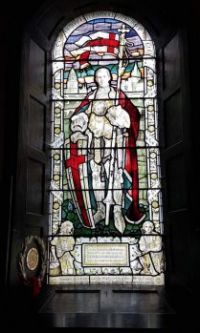 Remembrance window to Ellis Robert Cunliffe Stone