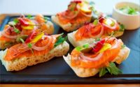 Canapes done by Sydney Hotel Catering