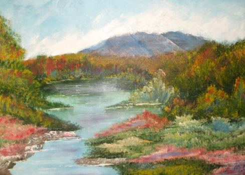 NH foliage painting