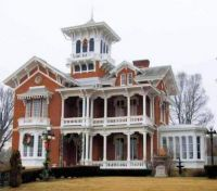 Gingerbread style Victorian Mansion