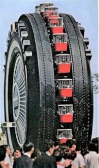 World's Largest Tire- originally at World's Fair 1964