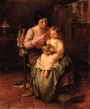 Preparing for Bed by William Kay Blacklock