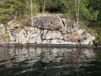 Lake reflections on the kayak outing