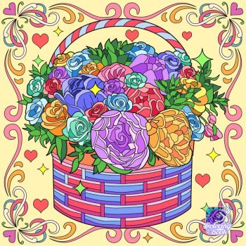 A Flower Basket for You
