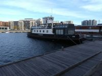 Houseboats in the South Harbour, Copenhagen