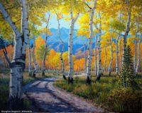 Autumn Aspen by Douglas Aagard