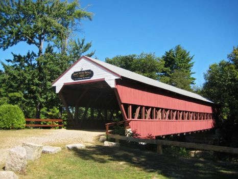 swift river bridge, conway, new hampshire