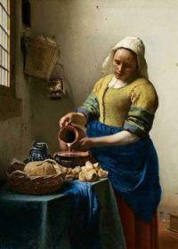 The Milkmade by Johannes Vermeer