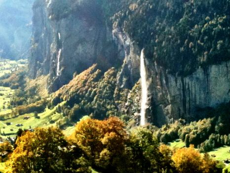 Staubbach Falls, Switzerland