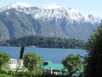First Snowfall on Lake Como