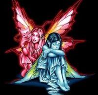 happy sad fairies