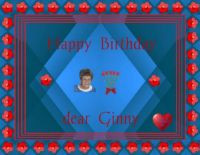 Happy Birthday dear Ginny (Ginny14 )