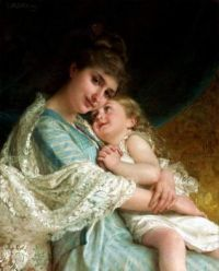 """A Tender Embrace"", By Emile Munier."