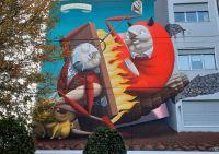 Ravenna street art, Italy
