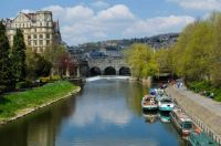 Kennet and Avon Canal at Bath, UK