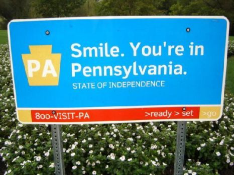 welcome to pennsylvania JEN and LYNDA