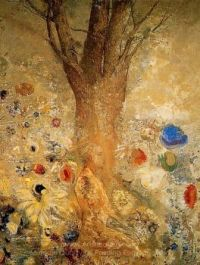 Buddha in His Youth by Odilon Redon