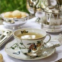 Tea With Silver Reflections